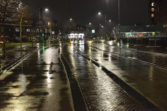 Lege straat in Breda.