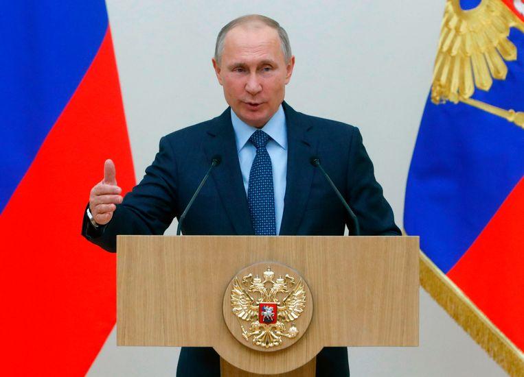 President Vladimir Poetin maakte van het goede nieuws gebruik bij zijn aankondiging, volgend jaar een gooi naar een nieuwe ambtstermijn als president te doen.