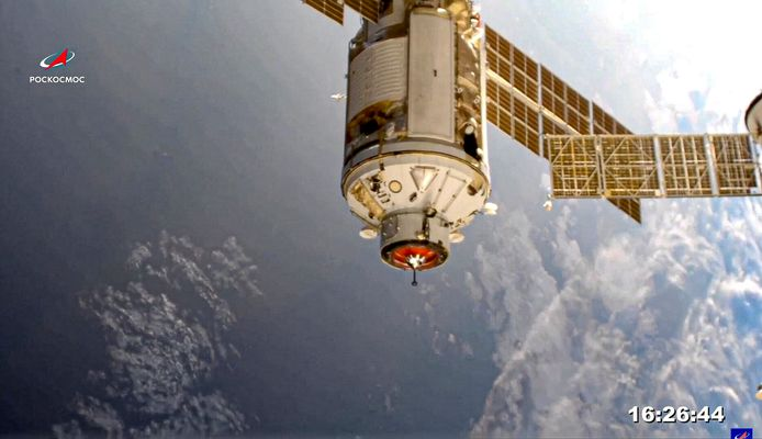 Plusieurs mois et une série de sorties extra-véhiculaires seront encore nécessaires pour rendre Nauka pleinement opérationnel et intégré à l'ISS.