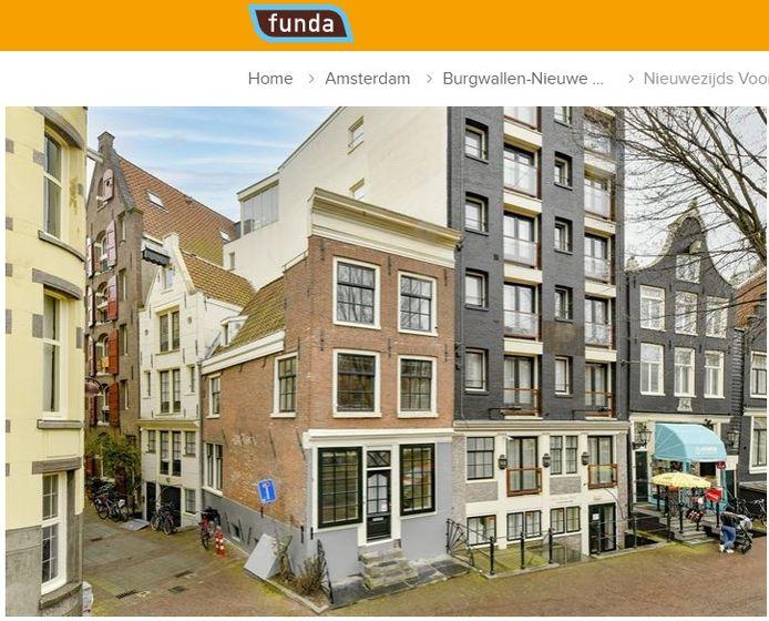 Nieuwezijds Voorburgwal 25, Amsterdam.