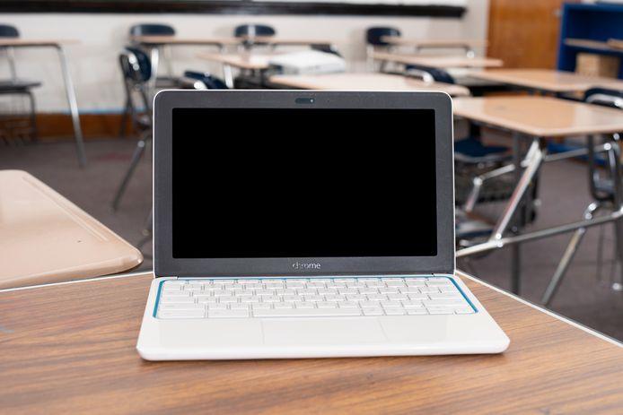 Een chromebook. Ooit een lelijk eendje, nu een kaskraker voor Google.