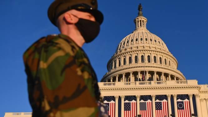 IN BEELD. Alle Amerikaanse staten in hoogste paraatheid in aanloop naar inauguratie Joe Biden