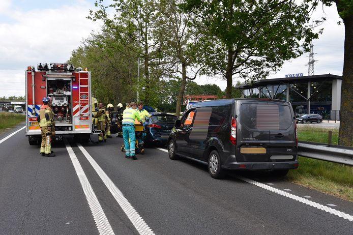 Het ongeluk op de N36