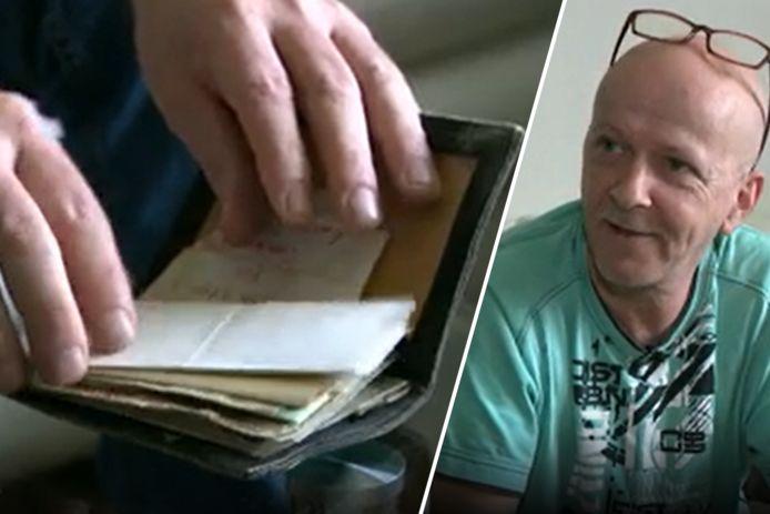 Pascal a retrouvé un portefeuille perdu après 36 ans, avec un contenu d'une grande valeur émotionnelle.