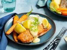 Wat Eten We Vandaag: Zalm met aardappel, venkel en aïoli