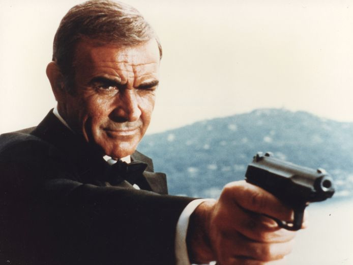Sean Connery als james Bond in Never Say Never Again.