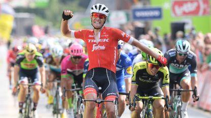 Jasper Stuyven draait sprinters een loer met late uitval in BinckBank Tour, Mohoric blijft leider