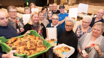 """Vriendenkring van Gemeentelijke Basisschool """"De Bosrank"""" Zingem brengt valentijnsontbijt aan huis"""