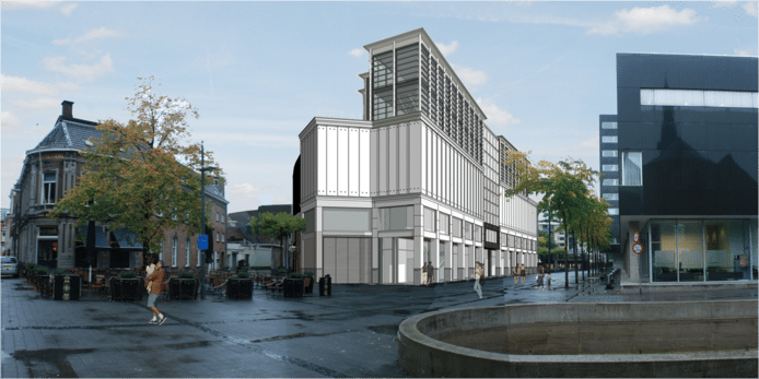 Impressie van de nieuwe Primark op het Stadhuisplein.