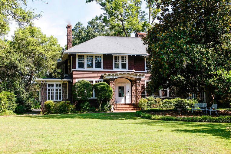 Het huis van Zelda en Scott Fitzgerald in de Amerikaanse staat Alabama is nu een museum.  Beeld Alamy