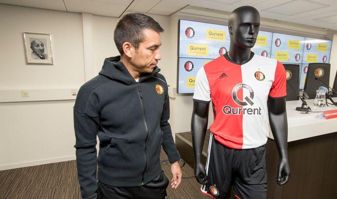 Qurrent prijkt sinds dit seizoen op het shirt van Feyenoord. De Amsterdamse stroomleverancier, afgelopen week uitgeroepen tot groenste van Nederland, prijst Eneco om de duurzame strategie.