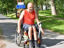 Christiaan rijdt vanuit Sluis op eigen kracht per rolstoel naar Groningen: 'Uitdagingen ga ik niet uit de weg'