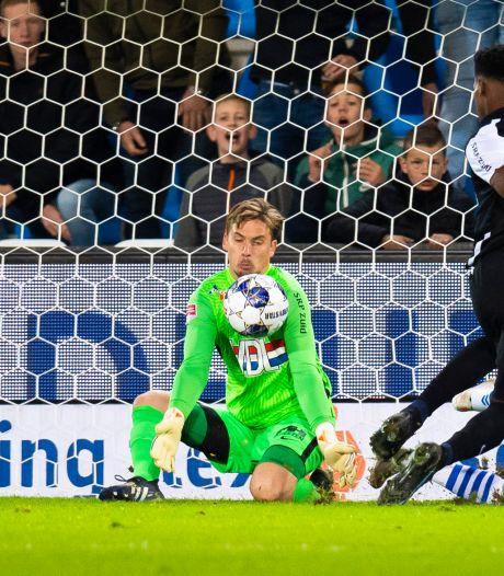 Bloed, zweet en een beetje geluk voor FC Eindhoven en sta-in-de-weg Bertrams: 'Hij had een gat in zijn been'