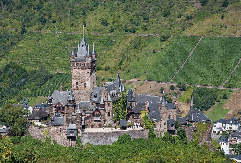 De burcht van Cochem.