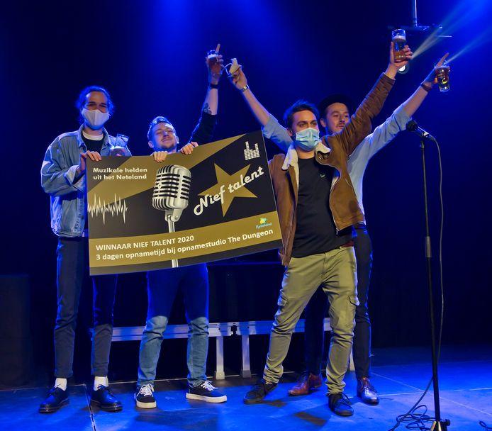 Last Living Souls uit Olen won vorig jaar de eerste editie van muziekwedstrijd Nief Talent.