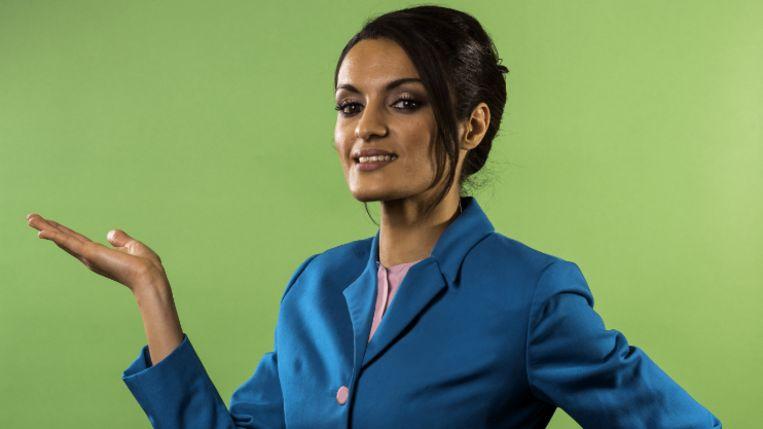 Sofia Lichani, ex-stewardess Ryanair. Beeld rv