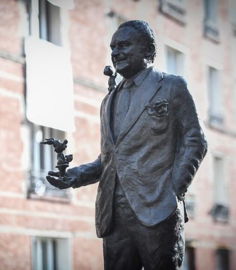 Une statue en l'honneur de Goscinny à Paris