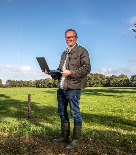 Dankzij gortdroge zomer vond deze amateurarcheoloog zeven onbekende kasteelterreinen in Oost-Nederland