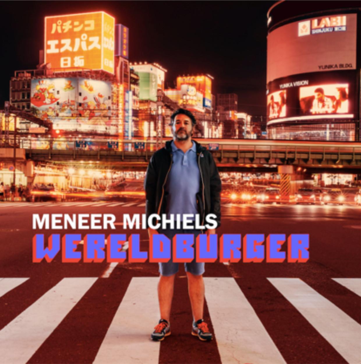 'Wereldburger' Beeld Meneer Michiels