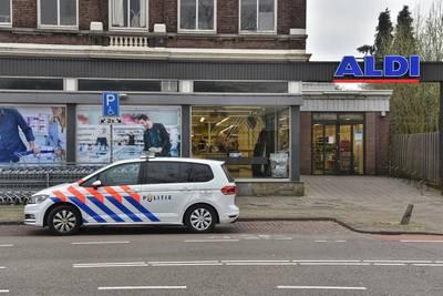 Klopjacht op overvaller Aldi Breda nog zonder resultaat