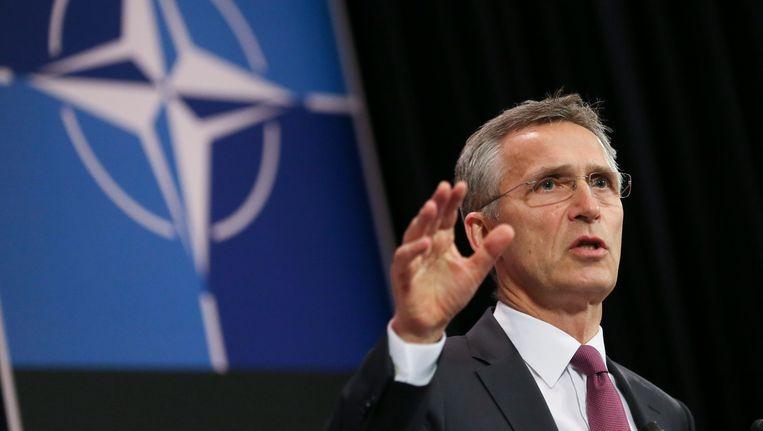 Navo-secretaris-generaal Jens Stoltenberg. Beeld EPA