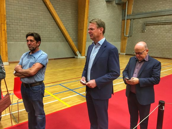 Hendrik Bogaert ging z'n stem uitbrengen in het Vrijetijdscentrum in Jabbeke.