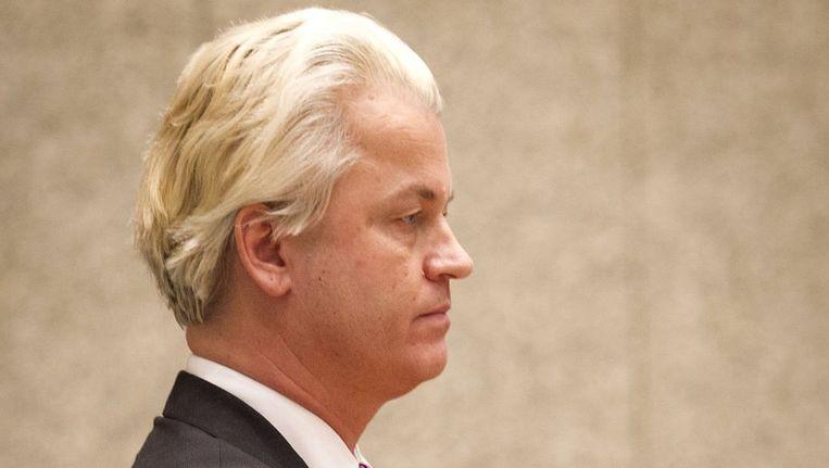 PVV-fractieleider Geert Wilders Beeld anp
