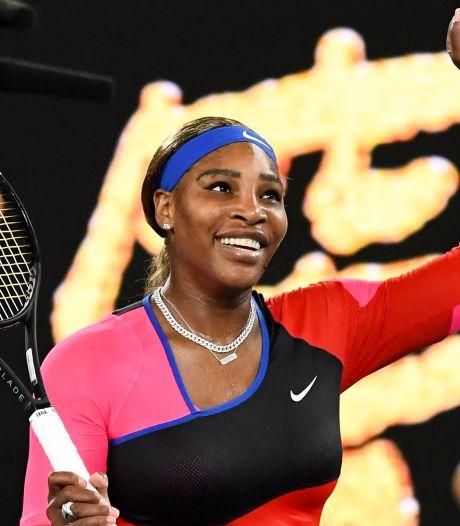 Trop forte pour Halep, Serena Williams rejoint Osaka en demi-finale