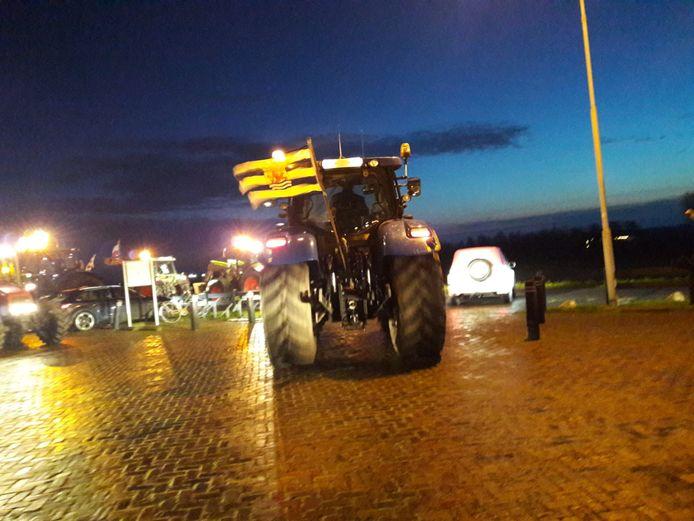 De boeren maken zich op voor de tocht naar Middelburg.
