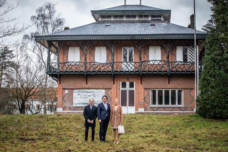 museumproject Liberation Garden, in aanwezigheid van gedeputeerde Igor Philtjens van de Provincie Limburg ,waarnemend burgemeester Marleen Kauffmann en schepen Eric coenen