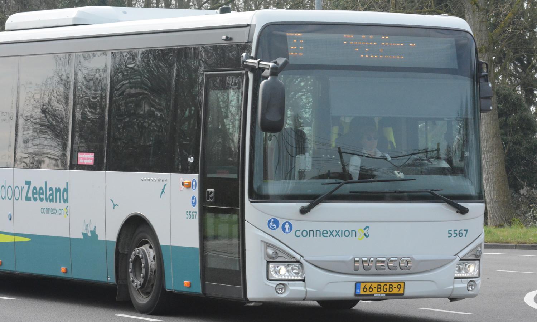Bus van Connexxion in Zeeland