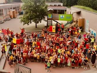 Zottegemse scholen kleuren zwart-geel-rood