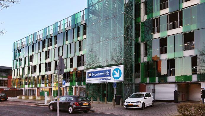 De P+R Hoornwijck bij Ypenburg.