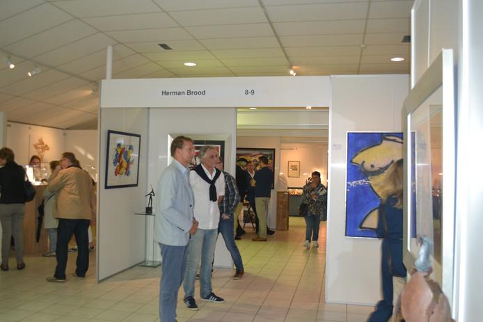 De Kunstbeurs exposeerde ook werken van Herman Brood.