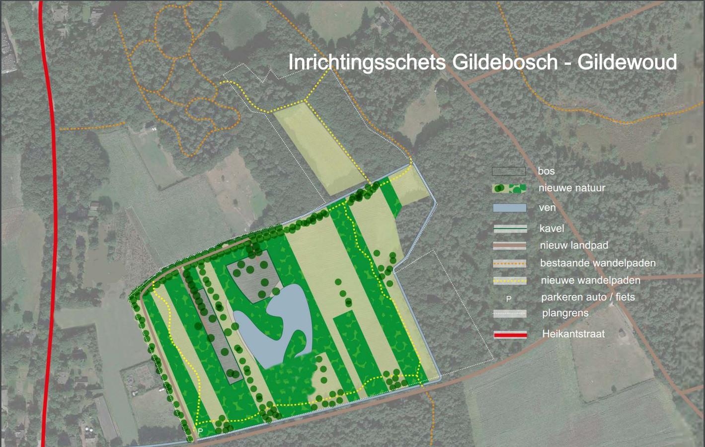 Met de ontwikkeling van het landgoed wordt 8 hectare natuur toegevoegd aan het gebied.