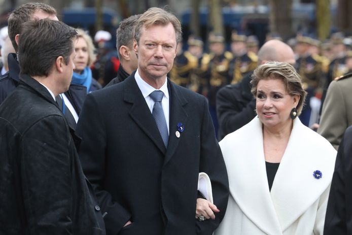 Groothertog Henri en zijn vrouw María Teresa van Luxemburg