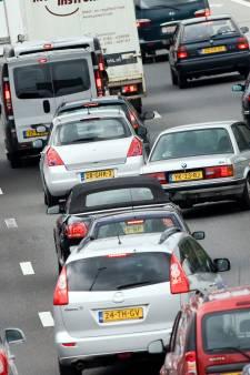 Verkeerschaos op A50 na ongeluk tussen Nistelrode en Veghel