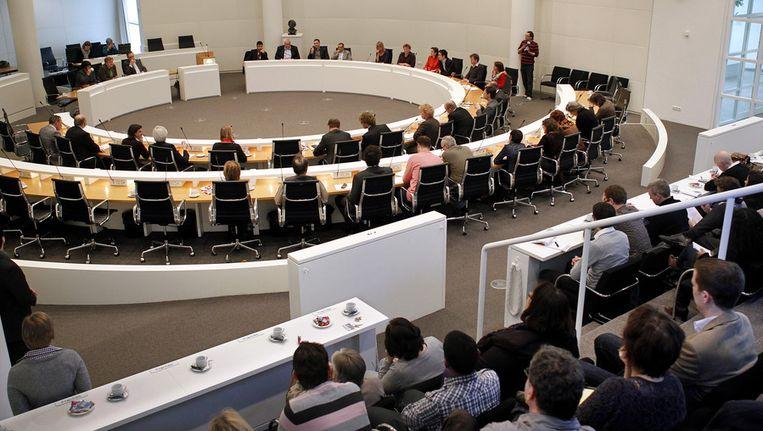 Vergadering van de Haagse gemeenteraad. © ANP Beeld