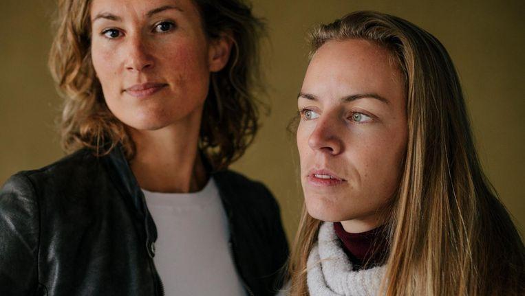 Miriam (l) en Noortje Beeld Marc Driessen