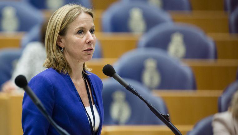 Tweede Kamerlid Stientje van Veldhoven (D66). Beeld Anp