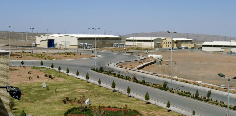 FILE PHOTO: A view of the Natanz uranium enrichment facility 250 km (155 miles) south of the Iranian capital Tehran, March 30, 2005. REUTERS/Raheb Homavandi/File Photo Beeld REUTERS