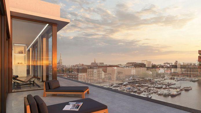 Dit wordt het nieuwe luxueus penthouse van Gert Verhulst