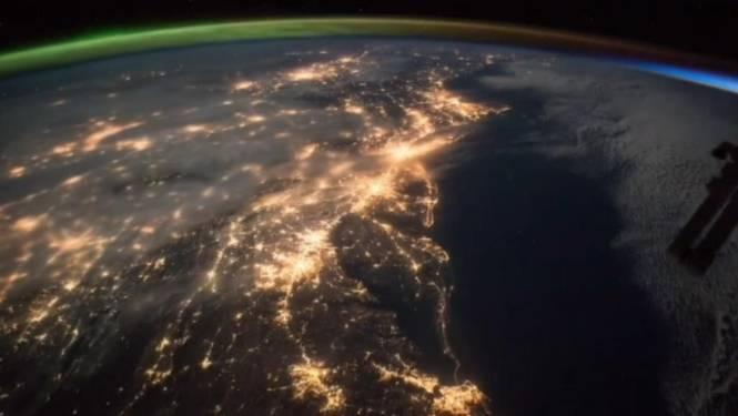 Prachtige beelden uit ruimtestation ISS