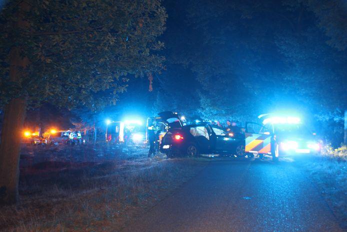 Maandagavond is er een zware crash gebeurd in Rijssen.