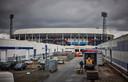 Bedrijventerrein tussen de Stadionweg en de Olympiaweg bij stadion De Kuip.