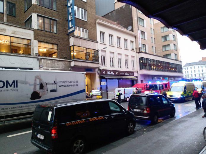 Het incident deed zich voor in de Pelikaanstraat.