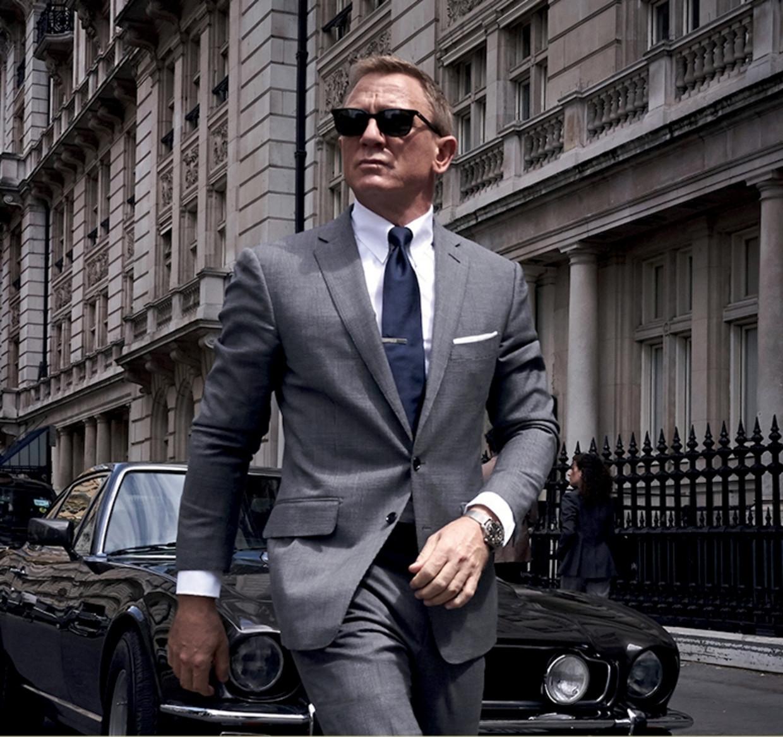 Als ik me had gedragen zoals de Bond uit de films, was ik al na 5 minuten uitgeschakeld.' (Foto: Daniel Craig in de nieuwste Bondfilm 'No Time to Die'.) Beeld