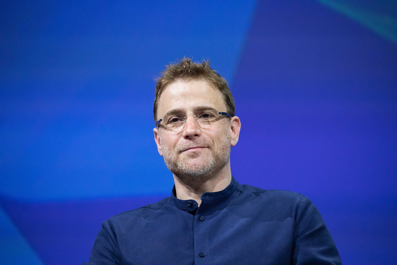 Stewart Butterfield, oprichter en CEO van Slack. Beeld Getty Images