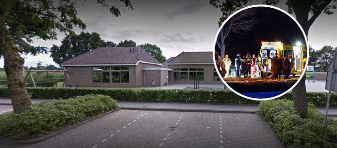 De  ds. Harmen Doornveldschool in Staphorst. Het jongetje dat vrijdag omkwam nadat het op zijn step werd aangereden, zat hier in groep 2.
