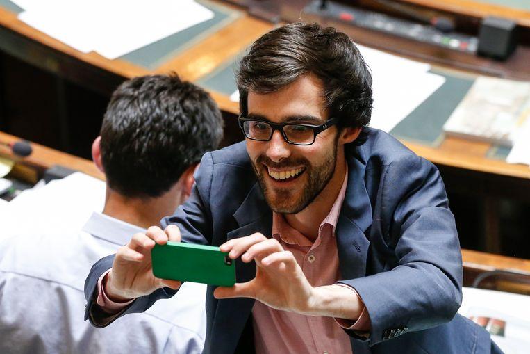 Groen-fractieleider Kristof Calvo. Beeld BELGA